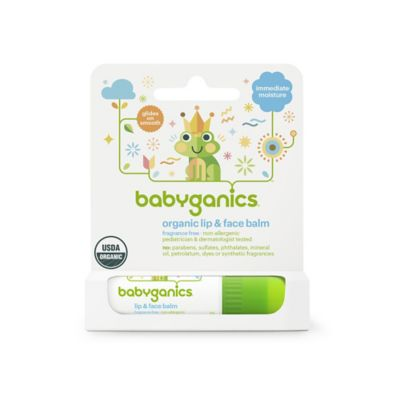 Babyganics® 0.25 oz. Fragrance Free Lip and Face Balm