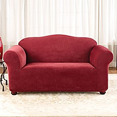 Stretch Pique Garnet Furniture Slipcovers by Sure Fit®