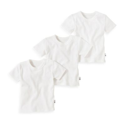 Burt's Bees Baby™ Size 2T 3-Pack Organic Cotton T-Shirts in Cloud White