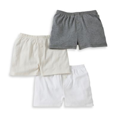Burt's Bees Baby™ Size 2T 3-Pack Boxers in Multicolor