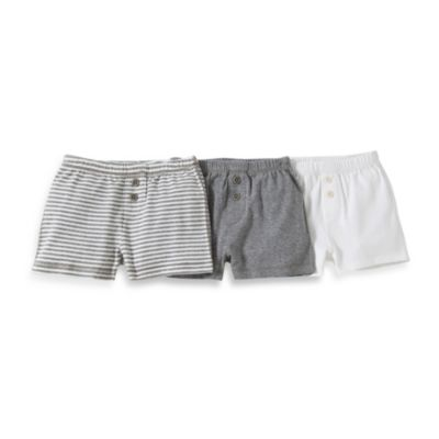 Burt's Bees Baby™ Size 2T 3-Pack Boxers in Grey