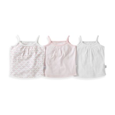 Burt's Bees Baby™ Size 18M 3-Pack Camisole Set in Pink/Multicolor