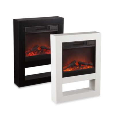 Holly and Martin Mofta Electric Fireplace in Black