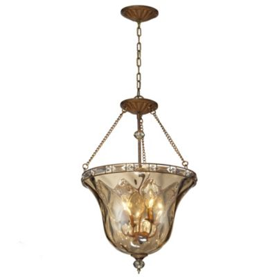 Cheltham 4-Light Pendant in Mocha