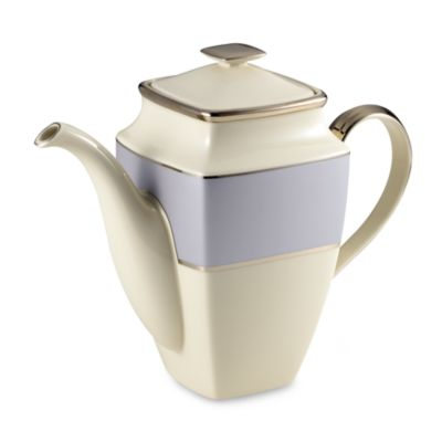 Lenox® Blue Frost Square 58-Ounce Coffeepot