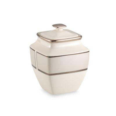 Lenox® Ivory Frost™ Square Sugar Bowl