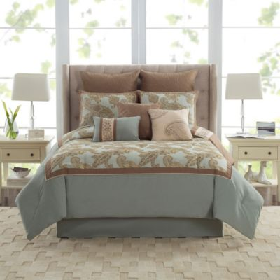 Pale Blue Comforter Set
