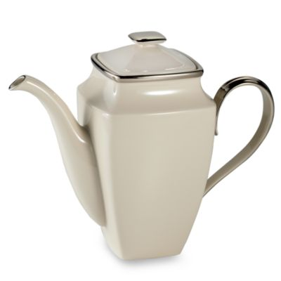 Lenox® Solitaire® Square 58-Ounce Coffeepot