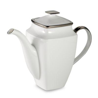 Lenox® Solitaire® White Square Coffeepot
