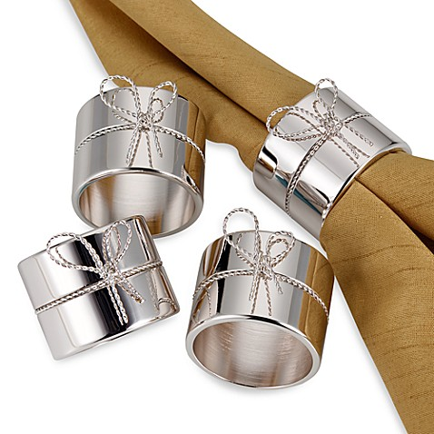 Vera Wang Wedgwood® Love Knots Napkin Rings