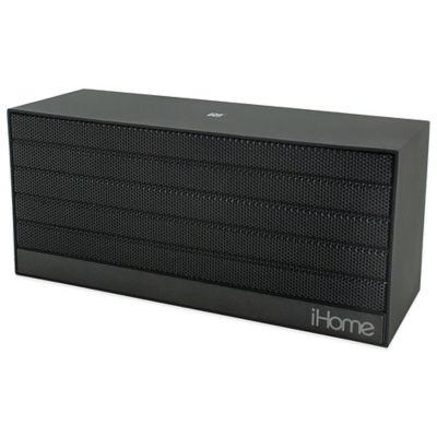 iHome Near Field Communication Bluetooth Rechargeable MiniSpeaker in Black