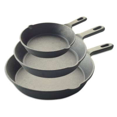 Typhoon® 6-Inch Pre-Seasoned Round Cast Iron Fry Pan