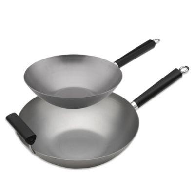 Steel Cookware Wok's
