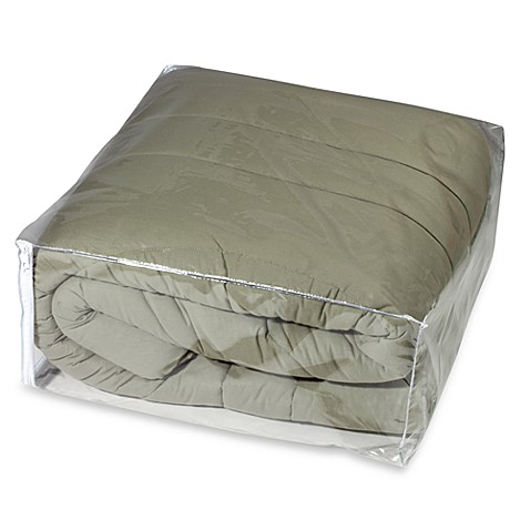 Crystal Clear Vinyl Comforter Bag Protector