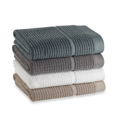 DKNYpure Retreat Hand Towel in Pewter