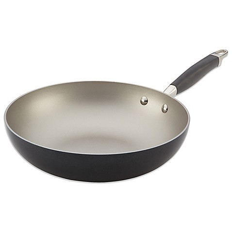 Buy Anolon 174 Advanced Pewter 12 Inch Open Stir Fry Pan From