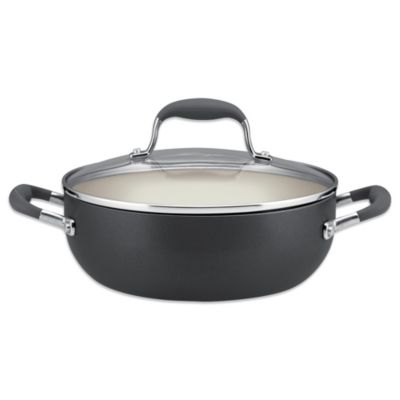 Anolon® Advanced Pewter 3.5-Quart Covered Chef's Casserole
