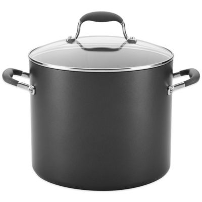 Buy Anolon 174 Advanced 7 5 Quart Wide Stockpot From Bed Bath