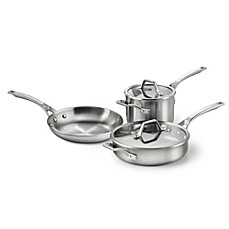 Calphalon® AccuCore™ Stainless 5-Piece Cookware Set