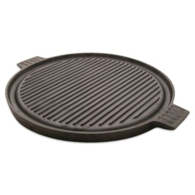 Typhoon® Cast Iron Reversible 15-Inch Round Grill Plate