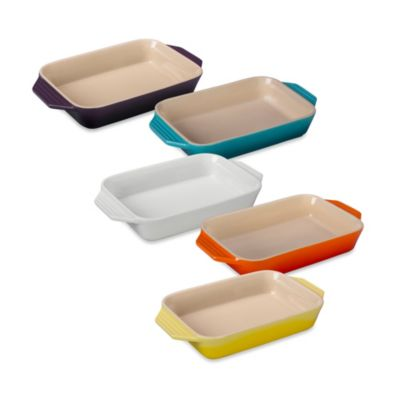 Le Creuset® 10-Inch x 7-Inch Rectangular Baking Dish in White