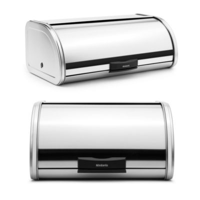 Brabantia® Large Bread Storage Touch Bin® in Brushed Stainless Steel