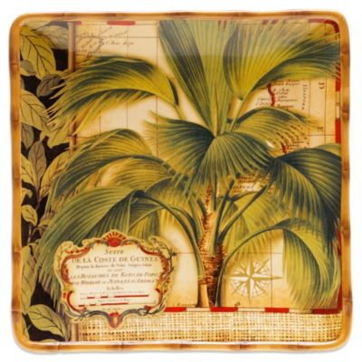 Certified International Las Palmas 14-1/2-Inch Square Platter