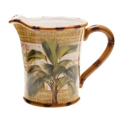 Certified International Las Palmas 12-3/4-Quart Pitcher