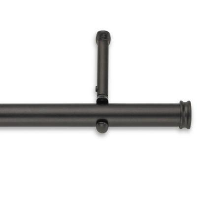 Cambria® Premier Complete Decorative 28-Inch – 48-Inch Drapery Rod in Matte Brown
