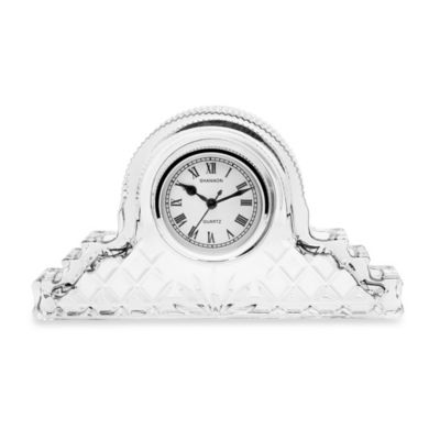 Godinger Dublin Mantel Lead Crystal Clock
