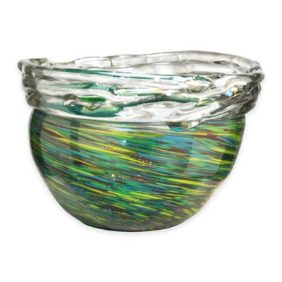 Aquamarine 10.5-Inch x 7.5-Inch Braided Bowl