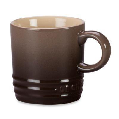 Le Creuset® 3.5-Ounce Espresso Mug in Truffle
