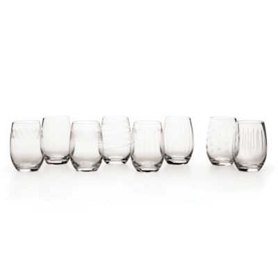 Mikasa® Cheers Stemless Crystal Wine Glass (Buy 6, Get 8)
