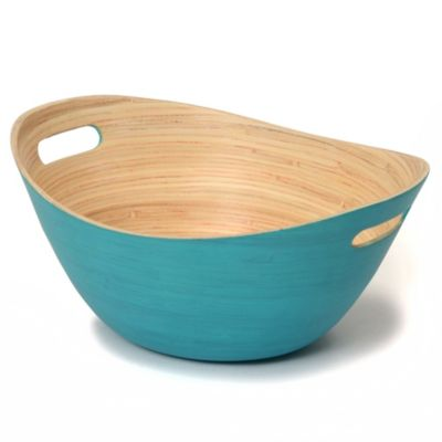 Teal Serving Bowls