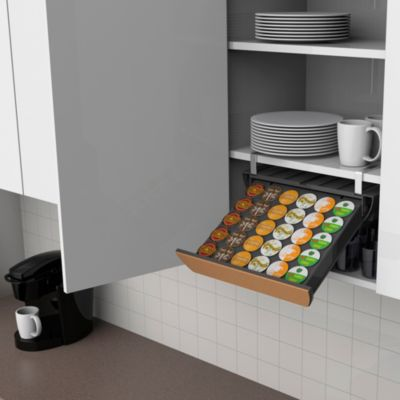 "Mind Reader ""Slider"" 30 K-Cup® Capacity Drawer in Black"