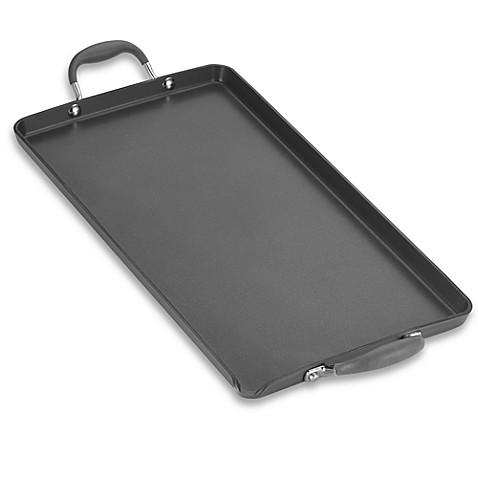 Anolon® Advanced Hard Anodized Nonstick 18-Inch x 10-Inch Double Burner Griddle