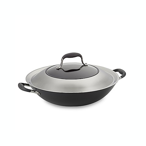 Anolon® Advanced 14-Inch Covered Wok