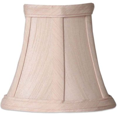 Piped Fabric Chandelier Shade in Taupe