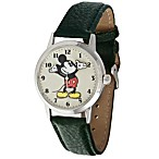 Disney® Ingersoll Classic Time All-Day Mickey Quartz Watch with Black Band