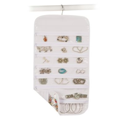 Closetware Clear 37-Pocket Jewelry Organizer