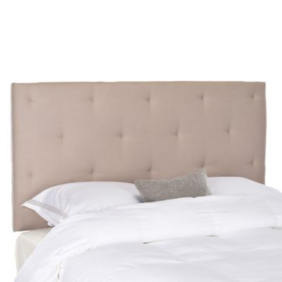 Safavieh Martin Queen Headboard in Taupe