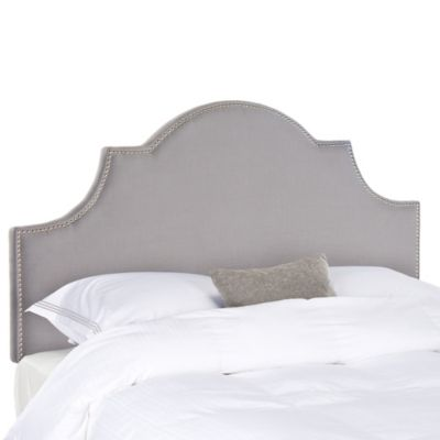 Safavieh Hallmar Queen Headboard in Artic Grey