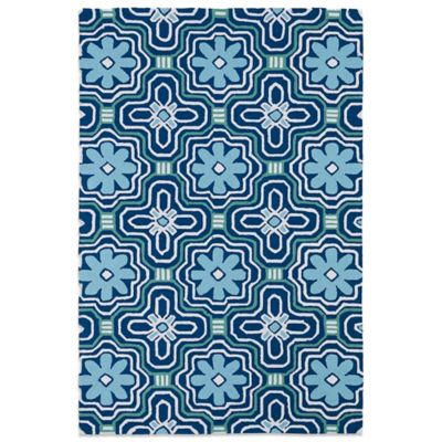 Flowers Indoor / Outdoor Area Rugs