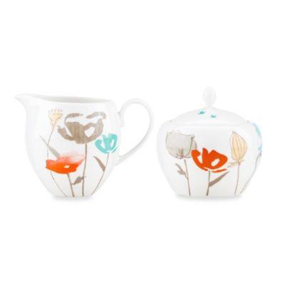 Lenox® Poppy Street Linen Sugar Bowl & Creamer Set