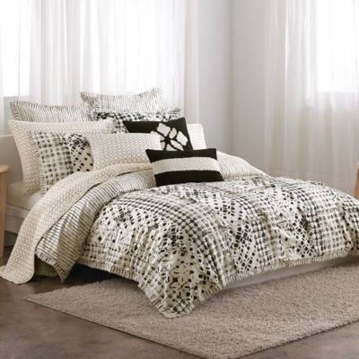 DKNYpure® Pure Imprint Full/Queen Duvet Cover