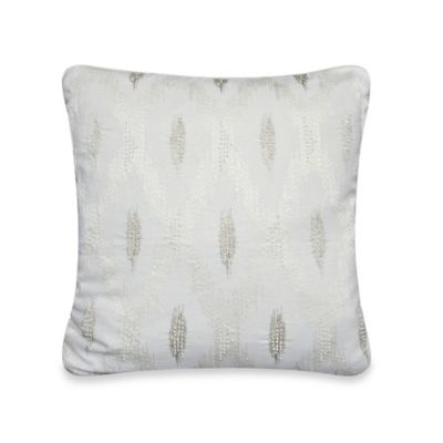 upstairs by Dransfield & Ross Tea Tree 20-Inch Square Toss Pillow