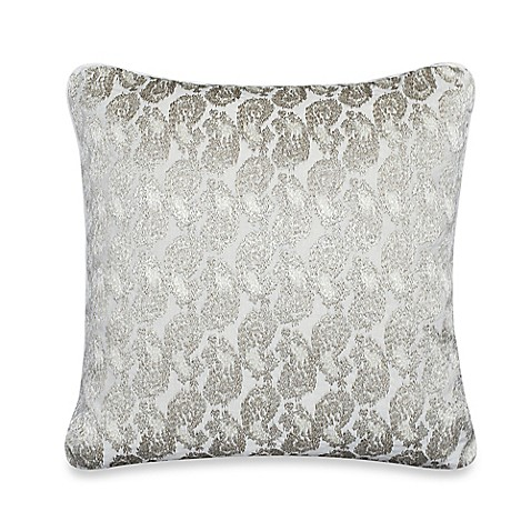 Buy upstairs by Dransfield & Ross Tea Tree 16-Inch Square Throw Pillow from Bed Bath & Beyond