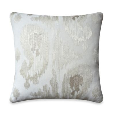 upstairs by Dransfield & Ross Tea Tree 22-Inch Square Throw Pillow