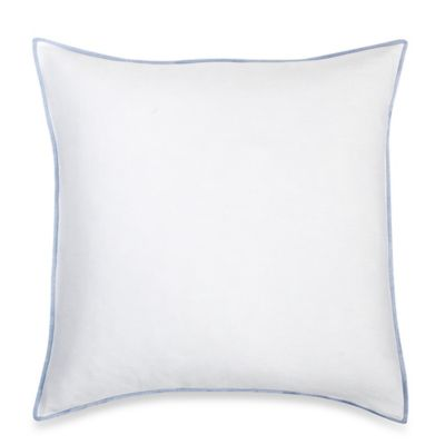 Bellora® Nico Square Throw Pillow in White