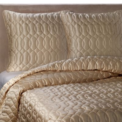 Barbara Barry Dream Sublime Full/Queen Quilt in Champagne